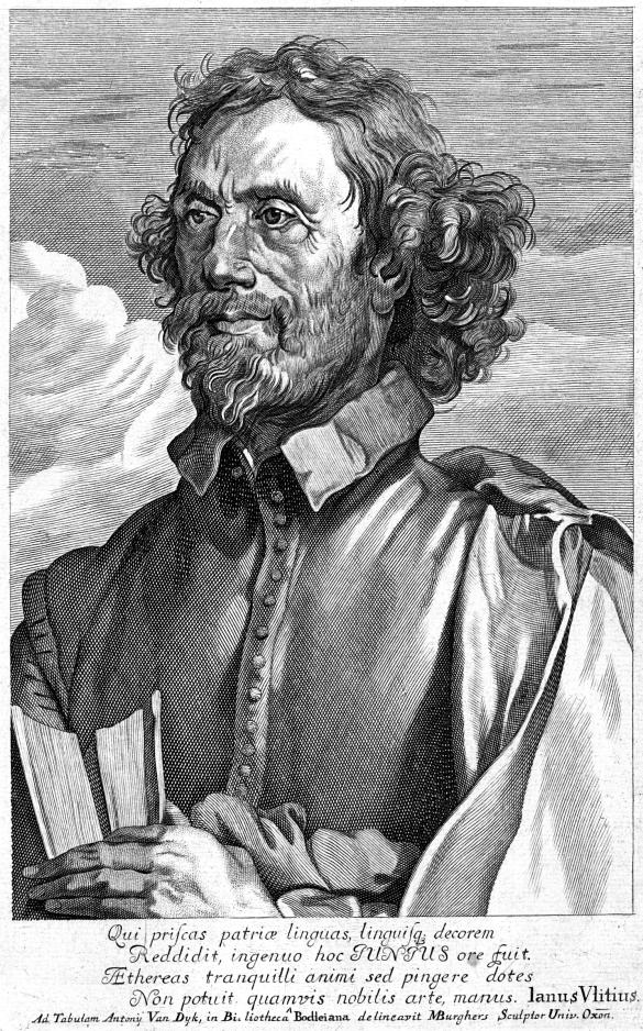 François Junius  *engraving  *21.1 x 13.3 cm  *1698