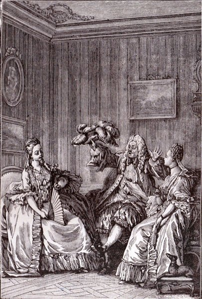 molires satire prcieuses ridicules was levelled at the numerous coteries which in the course of years had sprung up in imitation of rambouillet