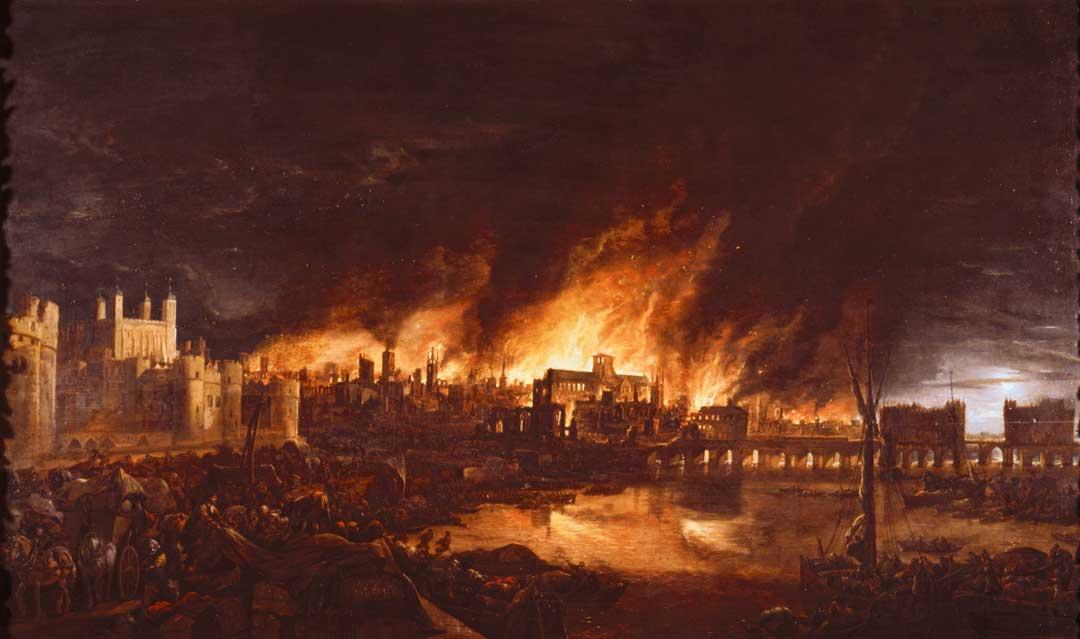 Apocalypse City Fire Post Apocalyptic City ...