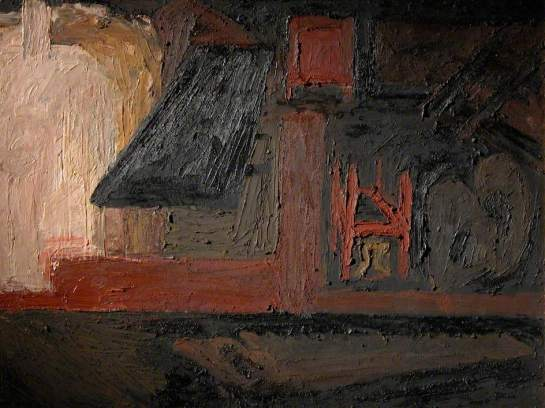 (c) Frank Auerbach; Supplied by The Public Catalogue Foundation