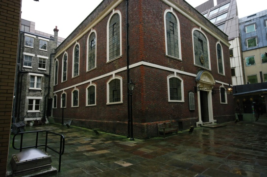 Bevis Marks Synagogue - London, England