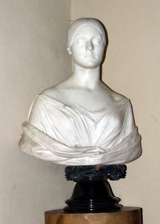 Yolande Marie-Louise Duvernay, Mrs Stephen Lyne-Stephens (1812-1894) by Lorenzo Bartolini (Vernio, Tuscany 1777 ¿ Florence 1850)